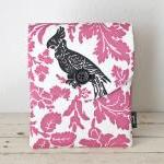 iPad Case - Pink Black Bird..