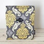 iPad Case - Grey Yellow Dam..