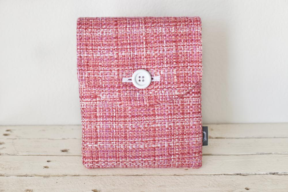 iPad Case - Pink Tweed